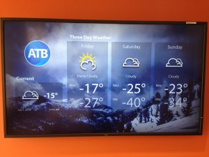 weather forecast Edmonton